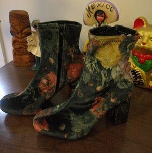 MIA Stretch Velvet Boots